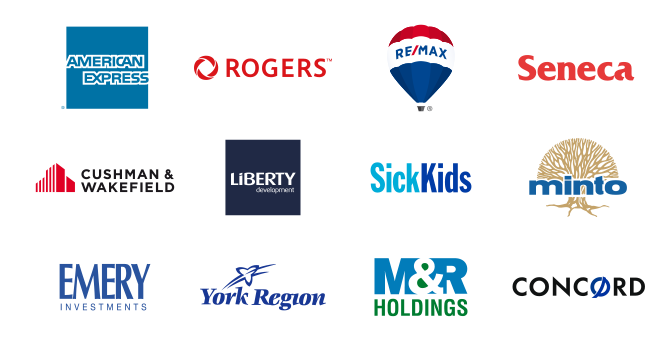 Clients of Brothers Markle, Custom Signage Company in Toronto GTA